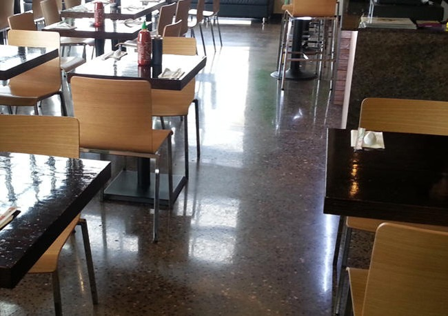 Concrete Floor Polishing Contractor Services