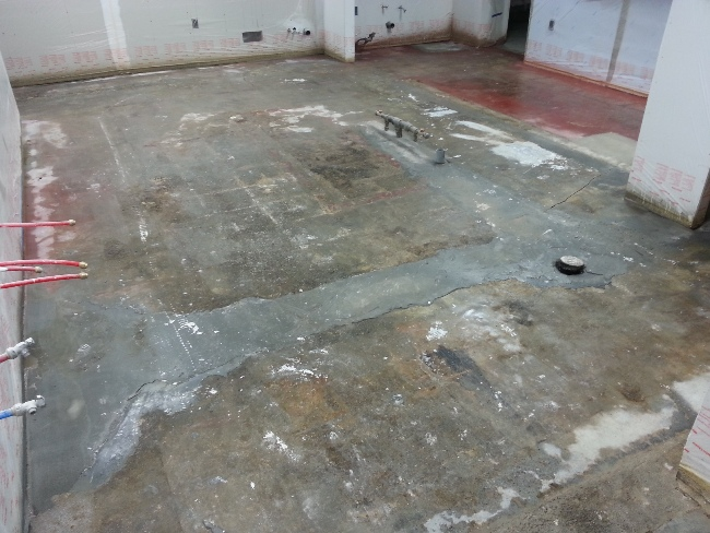 Concrete Floor Leveling Contractor