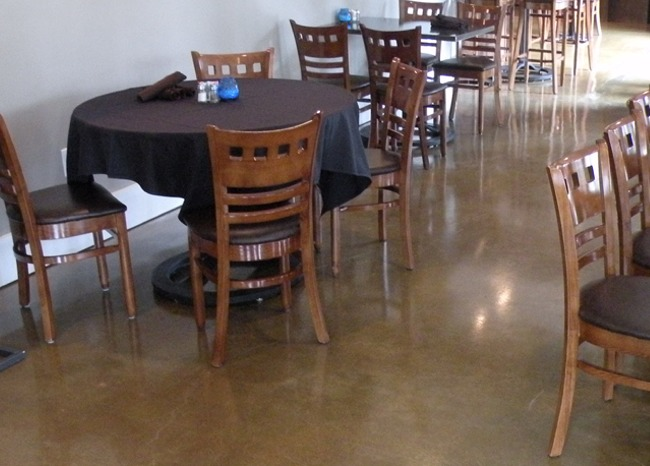 View more about Polished Concrete Floor - Oakbrook Golf & Country Club Restaurant