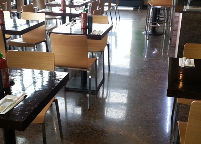 View more about Polished Concrete Pho Hoa Restaurant Floor - Lacey, WA