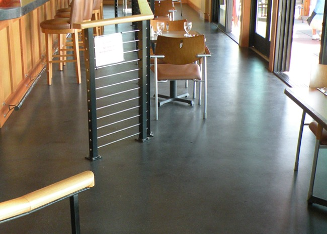 View more about Polished Concrete Floor - Kingston Golf Course Restaurant
