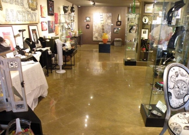 View more about Polished Concrete Retail Store Floor - Urban Alchemy, Tacoma