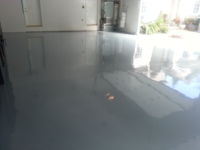 View more about Epoxy Garage Floor Photo Gallery